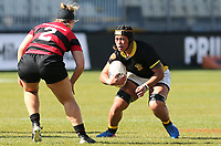 Action from the 2019 Farah Palmer Cup Women's Rugby between Canterbury and Wellington at Orangetheory Stadium in Christchurch, New Zealand on Saturday, 31 August 2019. Photo: Martin Hunter/ lintottphoto.co.nz
