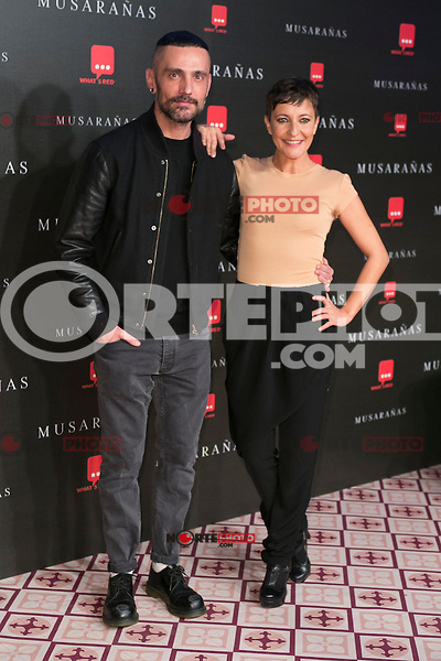 "David Delfin and Eva Hache attend the Premiere of the movie ""Musaranas"" in Madrid, Spain. December 17, 2014. (ALTERPHOTOS/Carlos Dafonte) /NortePhoto /NortePhoto.com"