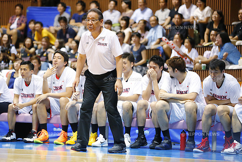 Kenji Hasegawa (JPN), AUGUST 15, 2015 - Basketball : International friendly match between Japan 65-54 Czech Republic at 2nd Yoyogi Gymnasium in Tokyo, Japan. (Photo by Yusuke Nakanishi/AFLO SPORT)