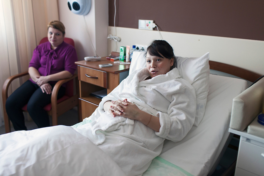 Lapino, Russia, 29/03/2013.<br />