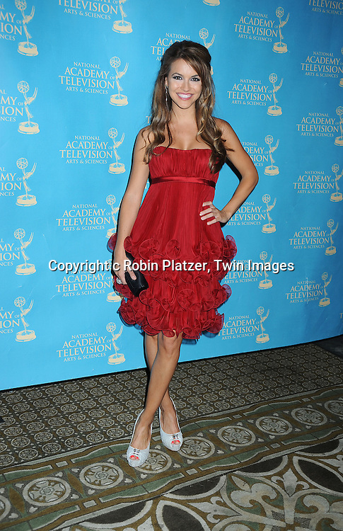 Chrishell Stause attending the 37th Daytime Emmy Awards Creative Arts & Entertainment Awards on JUne 25, 2010 at the Bonaventure Hotel in Los Angeles.