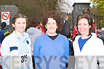 ATHLETES: Helena O'Donoghue, Margaret O'Leary and Caroline Murphy, who competed in the Gneeveguilla AC road race in Killarney on Saturday.