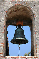 A Bell In The Arch At The Historic Mission San Juan Capistrano