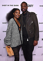 """WEST HOLLYWOOD - FEBRUARY 15: Gabrielle Union and Dwayne Wade arrive for the LA screening of Fox Sports """"Shot in the Dark"""" at the Pacific Design Center on February 15, 2018 in West Hollywood, California.(Photo by Frank Micelotta/Fox/PictureGroup)"""