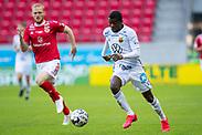 KALMAR, SWEDEN - JULY 01: Kalpi Ouattara of Ostersunds FK during the Allsvenskan match between Kalmar FF and Ostersunds FK at Guldfageln Arena on July 1, 2020 in Kalmar, Sweden. (Photo by David Lidström Hultén/LPNA)