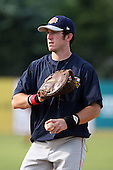 July 11th 2008:  First round draft pick Ike Davis of the Brooklyn Cyclones, Class-A affiliate of the NY Mets, during a game at Russell Diethrick Park in Jamestown, NY.  Photo by:  Mike Janes/Four Seam Images