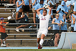 06 September 2009: Evansville's Tom Irvin. The University of North Carolina Tar Heels defeated the Evansville University Purple Aces 4-0 at Fetzer Field in Chapel Hill, North Carolina in an NCAA Division I Men's college soccer game.