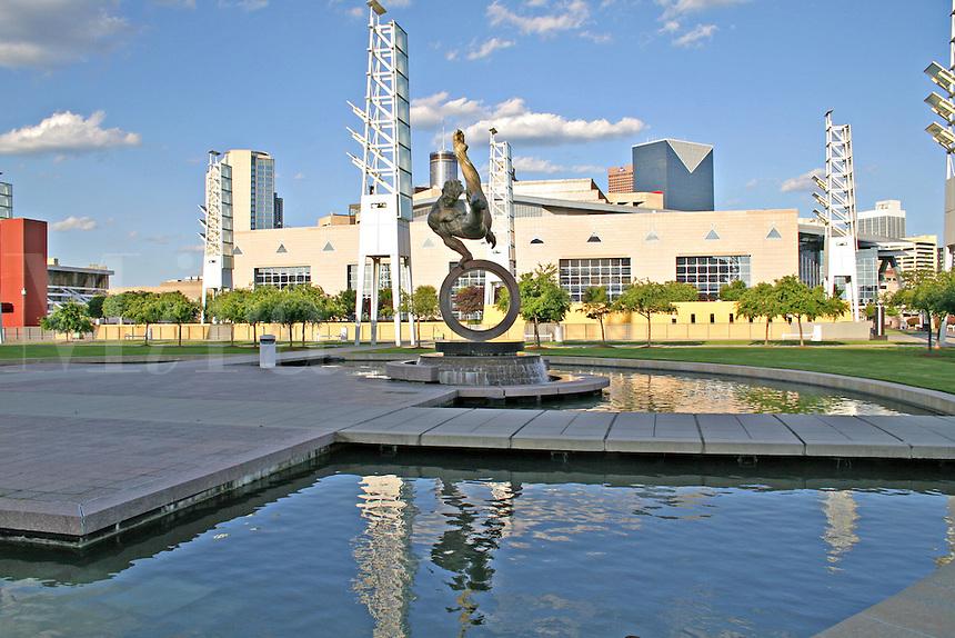 Georgia International Plaza Philips Arena downtown Atlanta Georgia