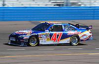 Apr 17, 2009; Avondale, AZ, USA; NASCAR Sprint Cup Series driver Marcos Ambrose during practice for the Subway Fresh Fit 500 at Phoenix International Raceway. Mandatory Credit: Mark J. Rebilas-