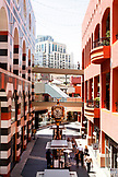USA, California, San Diego, inside the Westfield Horton Plaza in San Diego