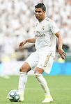 Real Madrid's Carlos Henrique Casemiro during La Liga match. September 14,2019. (ALTERPHOTOS/Acero)