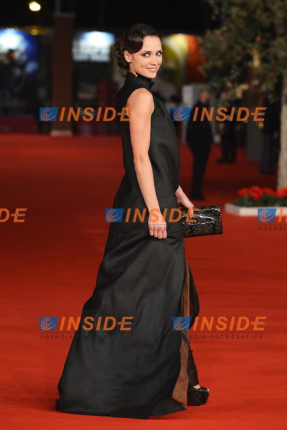 """Actress Anastasia Mikulchina - Movie """"V ozidanii morjia / Aspettando il mare"""" .Roma 9/11/2012 Auditorium.Festival del Cinema di Roma.Foto Guido Aubry Elipics"""