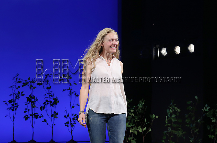 Rachel Bay Jones during the Broadway Opening Night Performance Curtain Call for 'Dear Evan Hansen'  at The Music Box Theatre on December 3, 2016 in New York City.