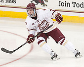 Connor Moore (BC - 7) - The visiting Merrimack College Warriors defeated the Boston College Eagles 6 - 3 (EN) on Friday, February 10, 2017, at Kelley Rink in Conte Forum in Chestnut Hill, Massachusetts.