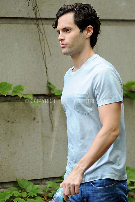WWW.ACEPIXS.COM . . . . . .July 13, 2011, New York City....Penn Badgley on the set of Gossip Girl on July 13, 2011 in New York City....Please byline: KRISTIN CALLAHAN - ACEPIXS.COM.. . . . . . ..Ace Pictures, Inc: ..tel: (212) 243 8787 or (646) 769 0430..e-mail: info@acepixs.com..web: http://www.acepixs.com .