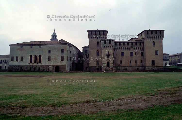 Mantova, castello di San Giorgio.<br /> Mantua, San Giorgio castle.