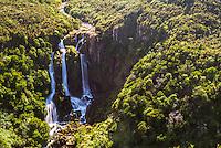 Waipunga Falls, a waterfall of the Waipunga River near Taupo, Waikato Region, New Zealand