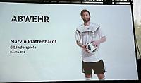 Marvin Plattenhardt (Hertha BSC Berlin) ist für den WM Kader nominiert - 15.05.2018: Vorläufige WM-Kaderbekanntgabe, Deutsches Fußballmuseum Dortmund