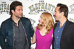 Bradley Cooper, Patricia Clarkson and Alessandro Nivola attends the 'The Elephant Man' Broadway Cast photo call at Sardi's on October 21, 2014 in New York City.