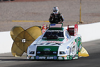 Apr. 3, 2009; Las Vegas, NV, USA: NHRA funny car driver Ashley Force during qualifying for the Summitracing.com Nationals at The Strip in Las Vegas. Mandatory Credit: Mark J. Rebilas-