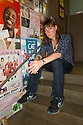 """Edinburgh, UK. 18.08.2015. Rebecca Root, actor, at the Pleasance Courtyard, where she is appearing in """"Trans Scripts"""" as part of the Edinburgh Festival Fringe. Rebecca also stars in the new, soon-to-be-screened, BBC sitcom, """"Boy Meets Girl"""", the UK's first trans-focussed sitcom. Photograph © Jane Hobson."""