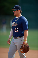 Tommy White (32) during the WWBA World Championship at the Roger Dean Complex on October 13, 2019 in Jupiter, Florida.  Tommy White attends Calvary Christian High School in St. Pete Beach, FL and is committed to North Carolina State.  (Mike Janes/Four Seam Images)