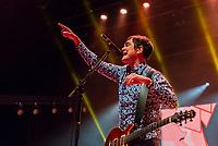 SÃO PAULO, SP, 01.09.2018 - SHOW-SP - Samuel Rosa, cantor e guitarrista da banda Skank durante show na noite deste sábado, 01, no Credicard Hall em São Paulo. (Foto: Anderson Lira/Brazil Photo Press)