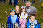 The Lovett Family from Tralee at the Enchanted Festival in Kilflynn on Sunday.<br /> Kneeling l to r: Cian, Rosie and Paddy Lovett.<br /> Back l to r: Louise and Pat Lovett.