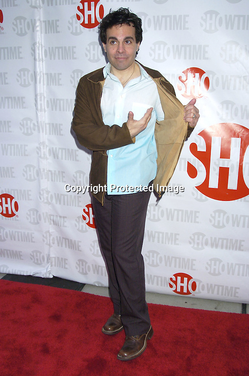 "Mario Cantone ..at the New York Premiere of Showtimes ""Reefer Madness""..on April 10, 2005 at the Directors Guild of America Theatre. ..Broadway Cares/Equity Fights Aids was benefitting from the Premiere. ..Photo by Robin Platzer, Twin Images"