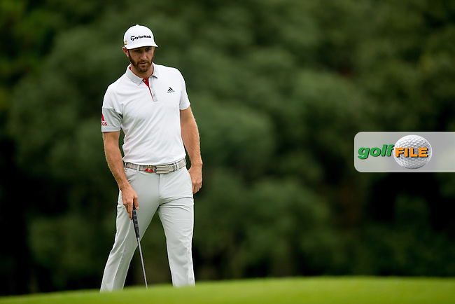 Dustin Johnson (USA) on the 10th during the 1st round f the WGC-HSBC Champions, Sheshan International GC, Shanghai, China PR.  27/10/2016<br /> Picture: Golffile | Fran Caffrey<br /> <br /> <br /> All photo usage must carry mandatory copyright credit (&copy; Golffile | Fran Caffrey)