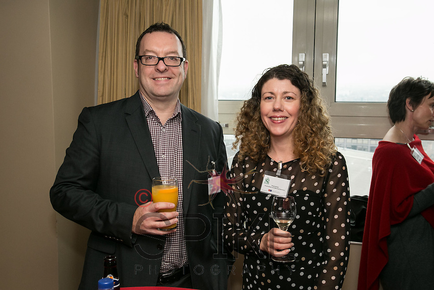 Nick Gregory of CPMG and Finola Brady, Architect
