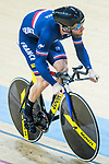 Benjamin Edelin of France competes in the Men's Kilometre TT - Qualifying during the 2017 UCI Track Cycling World Championships on 16 April 2017, in Hong Kong Velodrome, Hong Kong, China. Photo by Chris Wong / Power Sport Images
