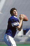 JUN 83-P9<br /> <br /> 8 Steve Young. <br /> <br /> June 1983<br /> <br /> Photo by Mark Philbrick/BYU<br /> <br /> © BYU PHOTO 2009<br /> All Rights Reserved<br /> photo@byu.edu  (801)422-7322