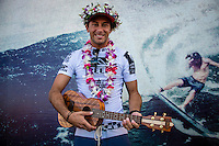 North Shore, Oahu, HAWAII - (Sunday, Nov. 24, 2013) -- Tahiti's Michel Bourez has won the REEF Hawaiian Pro, the $40,000 prize purse, and takes an early lead of the Vans Triple Crown of Surfing hydrated by vitaminwater&reg;. Bourez, 27, built momentum through the earlier rounds of this competition and was clearly unstoppable by the final. He survived a late charge by Haleiwa local Fred Patacchia, 31, and was well clear of Jeremy Flores (France) and Dion Atkinson (Australia), who finished third and fourth respectively.<br /> This is Bourez's second victory at the REEF Hawaiian Pro, having first won here in 2008. His combination of stylish power surfing and impeccable wave selection made him the man to beat through the final rounds of competition today. A strong surfer in big waves and a great Tahitian tube rider, he is definitely capable of winning the Vans Triple Crown this year.<br /> The most relieved athlete today was Dion Atkinson, 27, from South Australia. Atkinson entered the REEF Hawaiian Pro with work to be done if he is to qualify for the 2014 elite ASP World Championship Tour. With this result, he climbed into qualification position today, has taken off a little pressure going into Sunset, and will now be looking to maintain form in order to make his pro surfing dreams come true.  Photo: joliphotos.com
