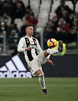 Calcio, Serie A: Juventus - Chievo Verona, Turin, Allianz Stadium, January 21, 2019.<br /> Juventus&rsquo; Federico Bernardeschi in action during the Italian Serie A football match between Juventus and Chievo Verona at Torino's Allianz stadium, January 21, 2019.<br /> UPDATE IMAGES PRESS/Isabella Bonotto