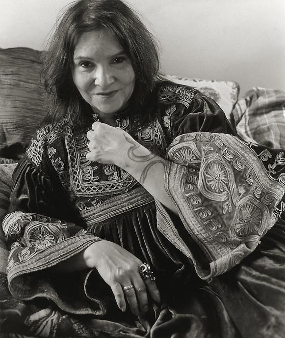 Rosebud Feliu-Pettet, 2008.  Writer, associate of Allen Ginsberg and Harry Smith.