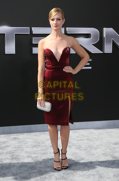 28 June 2015 - Los Angeles, California - Beth Behrs. &quot;Terminator Genisys&quot; Los Angeles Premiere held at the Dolby Theatre. <br /> CAP/ADM/FS<br /> &copy;FS/ADM/Capital Pictures