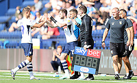 Preston North End's Billy Bodin is replaced by Tom Barkhuizen<br /> <br /> Photographer Rich Linley/CameraSport<br /> <br /> The EFL Championship - Preston North End v Sheffield Wednesday - Saturday August 24th 2019 - Deepdale Stadium - Preston<br /> <br /> World Copyright © 2019 CameraSport. All rights reserved. 43 Linden Ave. Countesthorpe. Leicester. England. LE8 5PG - Tel: +44 (0) 116 277 4147 - admin@camerasport.com - www.camerasport.com