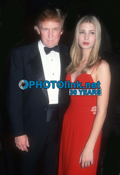 Donald Ivanka Trump 1998<br /> Photo By John Barrett/PHOTOlink.net