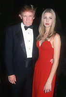 Donald Ivanka Trump 1998<br /> Photo By John Barrett/PHOTOlink.net