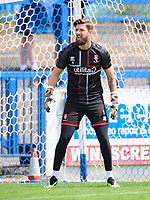 Lincoln City's Josh Vickers during the pre-match warm-up<br /> <br /> Photographer Chris Vaughan/CameraSport<br /> <br /> Football Pre-Season Friendly (Community Festival of Lincolnshire) - Gainsborough Trinity v Lincoln City - Saturday 6th July 2019 - The Martin & Co Arena - Gainsborough<br /> <br /> World Copyright © 2018 CameraSport. All rights reserved. 43 Linden Ave. Countesthorpe. Leicester. England. LE8 5PG - Tel: +44 (0) 116 277 4147 - admin@camerasport.com - www.camerasport.com