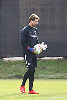 Torwart Kevin Trapp (Eintracht Frankfurt) - 20.02.2019: Eintracht Frankfurt Training, UEFA Europa League, Commerzbank Arena, DISCLAIMER: DFL regulations prohibit any use of photographs as image sequences and/or quasi-video.