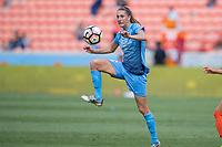 Houston, TX - Saturday May 13, Sky Blue FC midfielder Sarah Killion (16) during a regular season National Women's Soccer League (NWSL) match between the Houston Dash and Sky Blue FC at BBVA Compass Stadium. Sky Blue won the game 3-1.