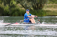 Race: 152  J13.1x  Final<br /> <br /> Peterborough Summer Regatta 2018 - Sunday<br /> <br /> To purchase this photo, or to see pricing information for Prints and Downloads, click the blue 'Add to Cart' button at the top-right of the page.