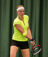 March 13, 2015, Netherlands, Rotterdam, TC Victoria, NOJK,  Claire Verwerda (NED)<br /> Photo: Tennisimages/Henk Koster