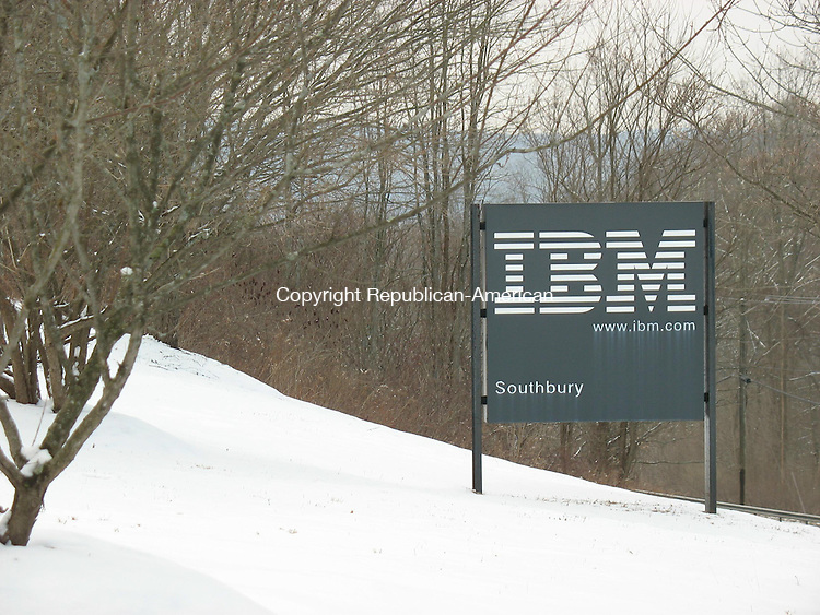 SOUTHBURY, CT. - 3 Feb. 2010 - 020310CG01 - IBM, with a sprawling campus on Kettletown Road, is the largest taxpayer in Southbury with a combined real estate and personal property assessment of $114.86 million. Chris Gardner Republican-American