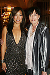"Dancing With The Stars' judge Carrie Ann Inaba poses with Linda Dano (Another World, OLTL, AMC, GH)  at the 15th Annual QVC presents ""FFANY Shoes on Sale"" which benefits Breast Cancer Research on October 15, 2008 at the Waldorf Astoria, New York City, New York. (Photo by Sue Coflin/Max Photos)"