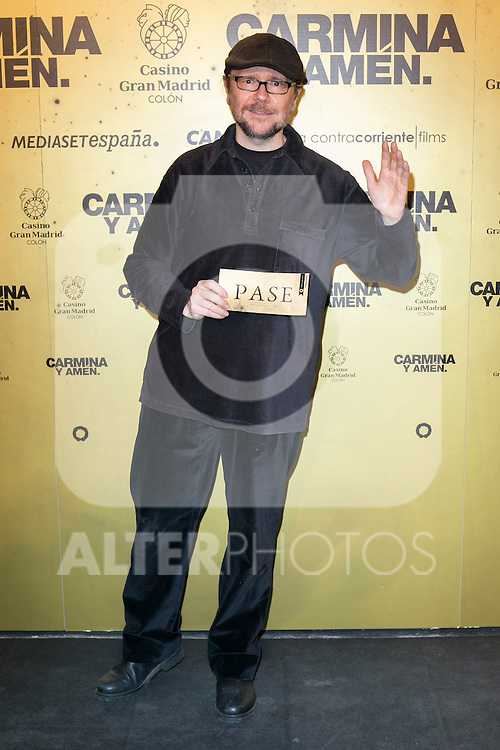 "Spanish Actor Santiago Segura attend the Premiere of the movie ""Carmina y Amen"" at the Callao Cinema in Madrid, Spain. April 28, 2014. (ALTERPHOTOS/Carlos Dafonte)"