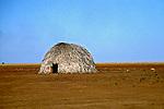 Casa de aldeia indígena Parecis. Tangará da Serra. Mato Grosso. 2005. Foto de Zaida Siqueira.