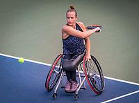 Amstelveen, Netherlands, 19 Augustus, 2020, National Tennis Center, NTC, NKR, National  Wheelchair Tennis Championships, Woman's single: Jiske Griffioen (NED)<br /> Photo: Henk Koster/tennisimages.com